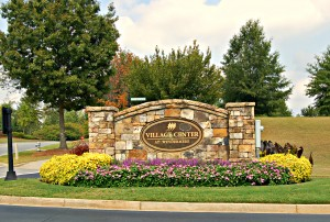 Windermere golf community subdivision in Cumming GA Forsyth County cannongate
