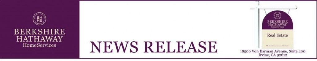 Berkshire Hathaway Real Estate News Release