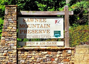 Sawnee Mountain Preserve - Hiking Trails in-Forsyth County Georgia