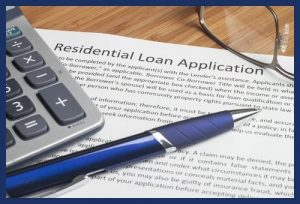 Residential loan mortgage application form